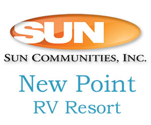 New Point RV Resort in Virginia is a Sun Community RV Park and a member of the Virginia Campground Association