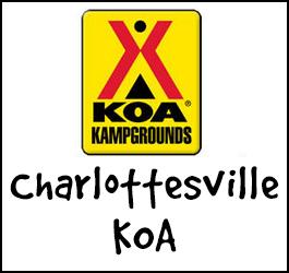 Charlottesville KOA Campground in VA