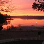 sunsets and sunrises to experience while camping in virginia