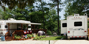 Rainbow Acres Campground in King and Queen Court House, VA a perfect camping vacation in Virginia
