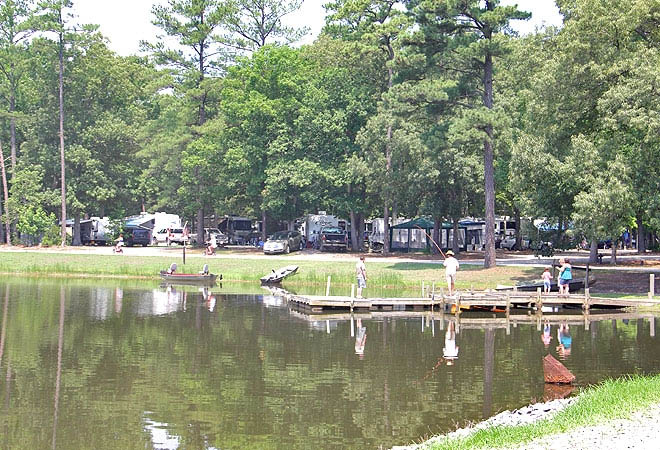 fishing-at-thousand-trail-chesapeake-bay-campground-in-virginia