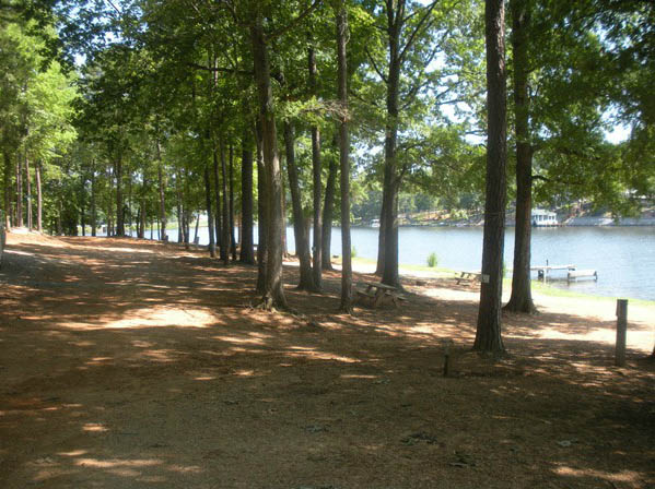 tent-sites-at-americamps-lake-gaston-in-virginia