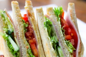 finger sandwiches for camping