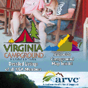 2017 Virginia Campground Directory cover