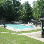 swimming pool at Prince William Forest RV Campground in Virginia