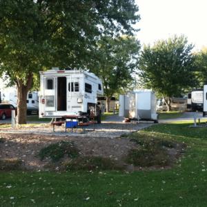 rv site photo Virginia KOA campground in Luray VA