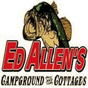 Ed Allens Campground and Cottages logo