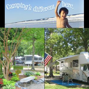 camping fun at Holiday Trav-L-Park
