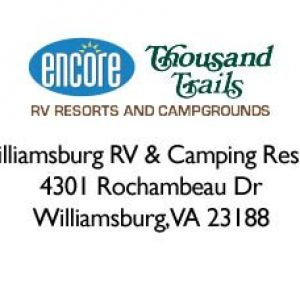 Williamsburg RV and Camping Resort Logo