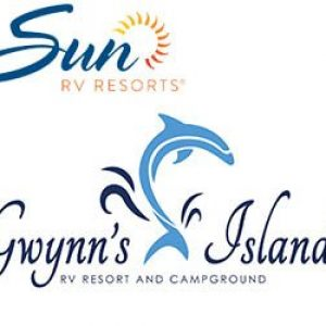 Gwynns Island - Sun RV Resorts logo