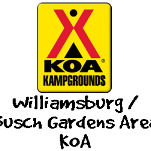 williamsburg - busch gardens area koa logo