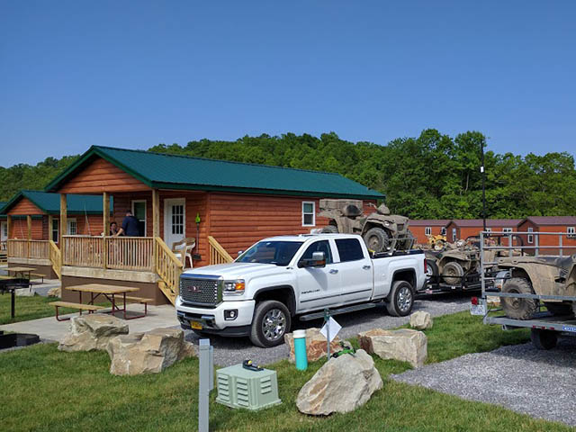 cabin rentals - atv trails - camping in virginia