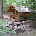 cabin rental at charlottesville koa