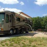 Big rig at Fredericksburg KOA