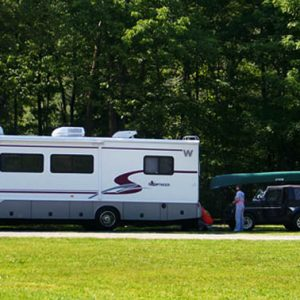 RV at Buckhorne Country Store and Campground