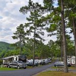 Campsites at Jellystone Park in Luray VA