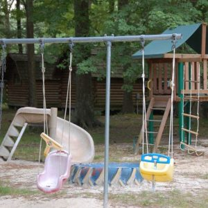 playground at Chesapeake Bay Camp Resort