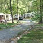 Campsites at Lynchburg KOA
