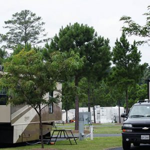 rvs on camping sites in virginia