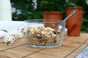 Overnight oats for campers