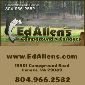 banner for Ed Allens Campground and Cottages