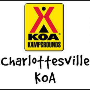 Charlottesville KOA logo