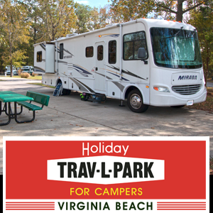 Holiday Trav-L-Park Virginia Beach banner