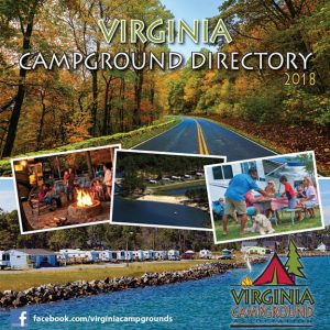 2018 Virginia Campground Directory cover