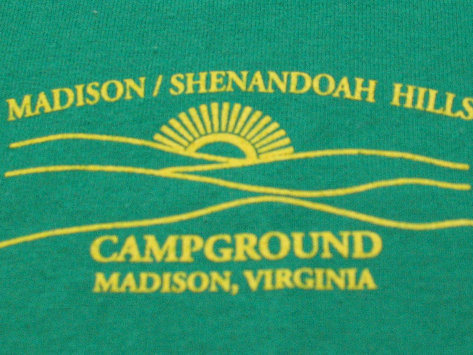 shenandoah hills campground logo in madison virginia