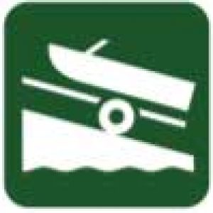boat on trailer icon