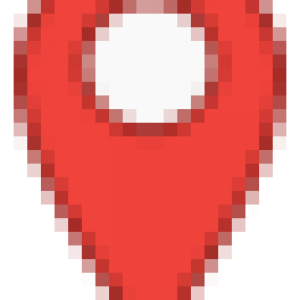 red marker icon