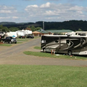 RV sites at chantilly farm campground