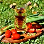 marinades for camping with tomatoes and green onions