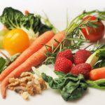 vegetables and berries