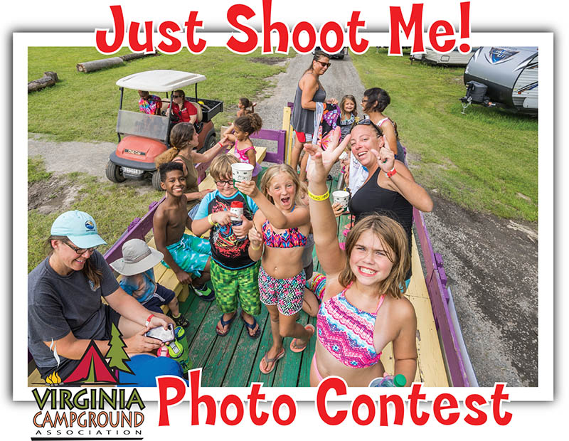 graphic for the just shoot me photo contest