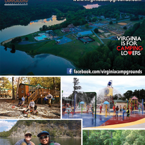 2020 Virginia Campground directory cover