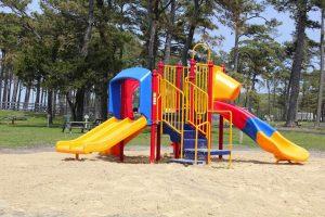 playground at cherrystone family campground at cape charles va