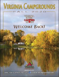 2020. virginia campground directory cover