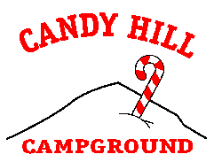 candy hill campground logo