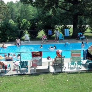 swimming pool at lynchburg koa in virginia